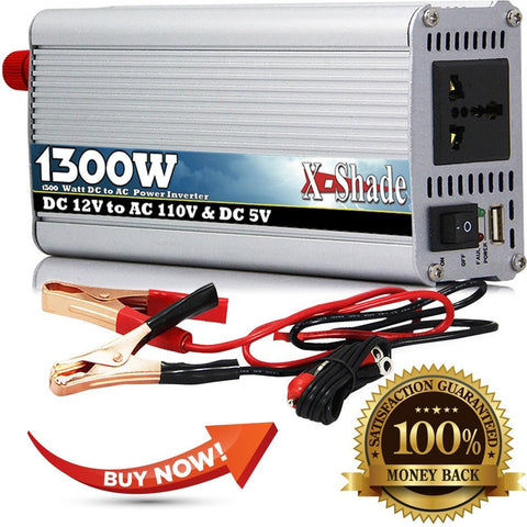 POWER INVERTER  1300 Watt - testing - 7