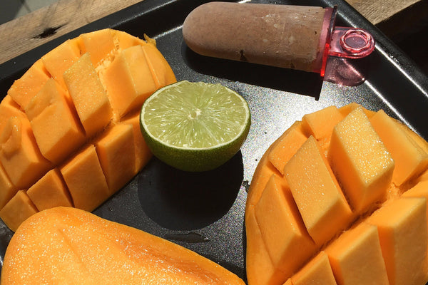 RECIPE: Domestic Mango-lime ice cream full of vitamins on hot summer days keeps you luckily :)