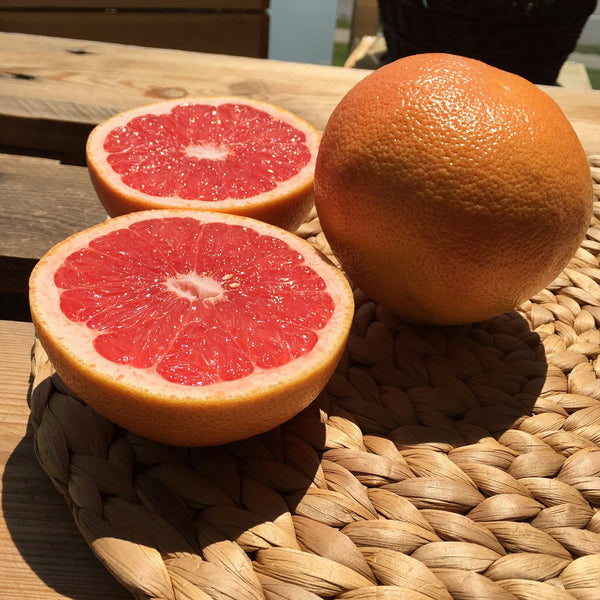 Grapefruit Red - detail