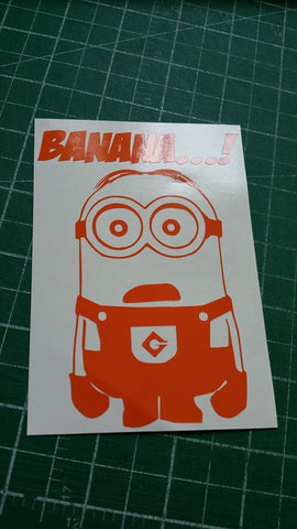 Banana! Minion Sticker