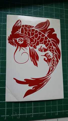 Koi Fish Sticker