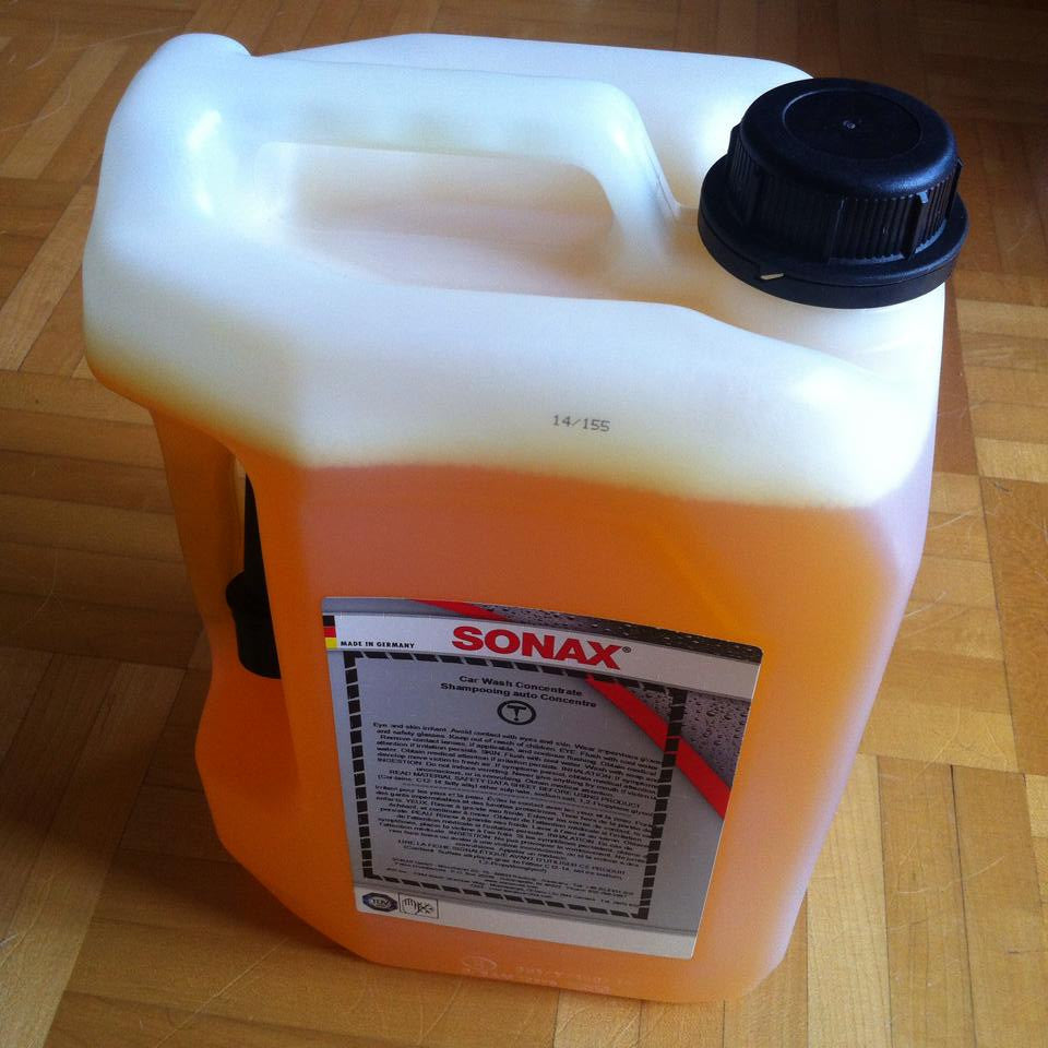 SONAX Car Wash Shampoo Concentrate 5L