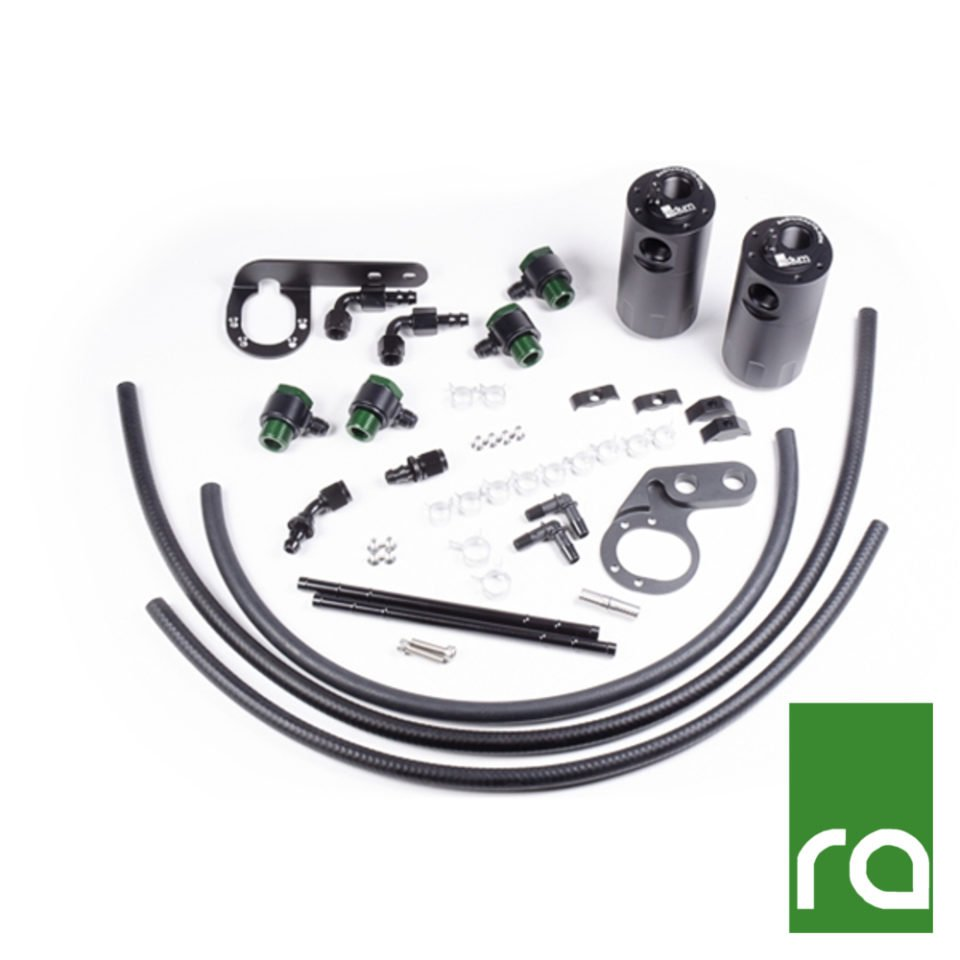 Radium Engineering Dual Catch Can Kit – 2017-2019 Honda Civic Type-R