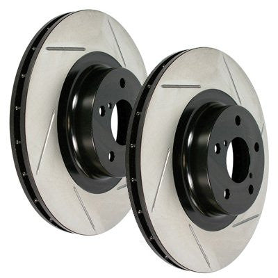 STOPTECH SLOTTED SPORT ROTORS (FRONT) - 2015+ WRX