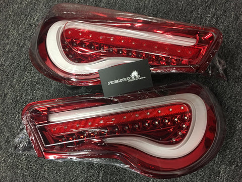 12+ GT-86/BRZ/FR-S VALENTI SEQUENTIAL LED TAIL LIGHTS
