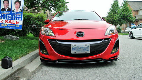 10-12 Mazda 3 Non-speed M'Z style front lip