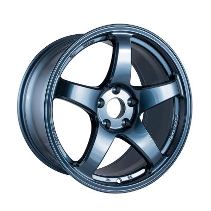 Enkei PF05 18x9.5 5x114.3 38mm Offset 75mm Bore Misty Blue Wheel