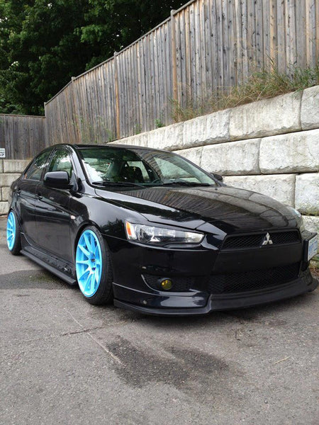 08 lancer side skirt add on nextmod montreal. Black Bedroom Furniture Sets. Home Design Ideas