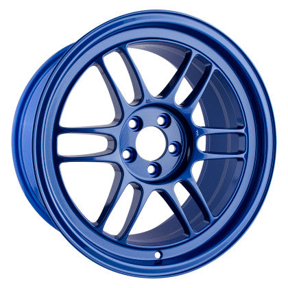 Enkei RPF1 17x9 5x100 35mm Offset 73mm Bore Victory Blue Wheel