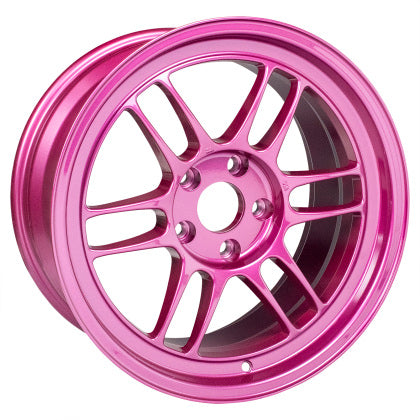 Enkei RPF1 17x9 5x114.3 22mm Offset 73mm Bore Magenta Wheel