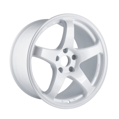 Enkei PF05 18x9.5 5x114.3 38mm Offset 75mm Bore White Pearl Wheel