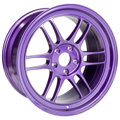 Enkei RPF1 18x9.5 5x114.3 38mm Offset 73mm Center Bore Purple Wheel