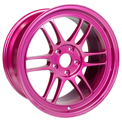 Enkei RPF1 18x9.5 5x114.3 38mm Offset 73mm Center Bore Magenta Wheel