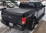 2004-2018 FORD F150 5.5FT SHORT BED - HARD TRI-FOLD COVER - SOLID FOLD TONNEAU COVER (TOP MOUNT)
