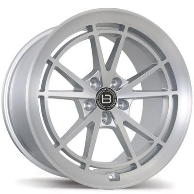 Braelin BR11 Satin Silver With Satin Machined Face Wheels