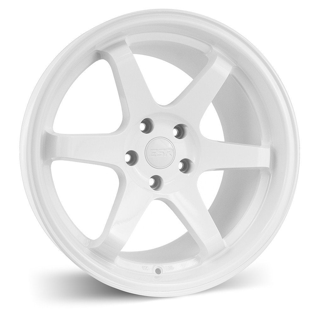 ESR SR07 WHEELS WHITE 18X9.5 +35 5X114.3