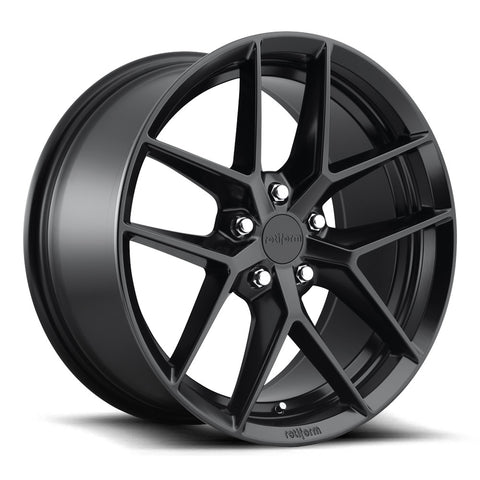 Rotiform FLG Matte Black Wheels