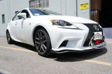 14-16 Lexus IS250F IS350F A-Style Front Bumper Lip (Polyurethane) [F-Sports Bumper ONLY]