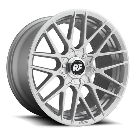 Rotiform RSE Silver Wheels