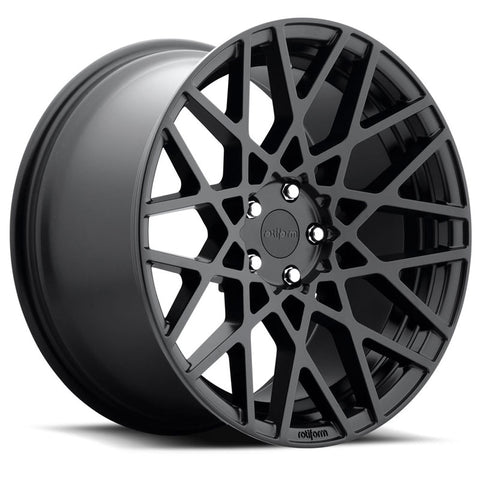 Rotiform BLQ Matte Black Wheels