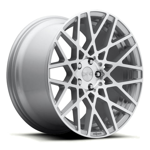 Rotiform BLQ Silver Wheels