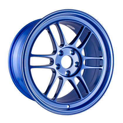 Enkei RPF1 18x9.5 5x114.3 38mm Offset 73mm Bore Victory Blue Wheel