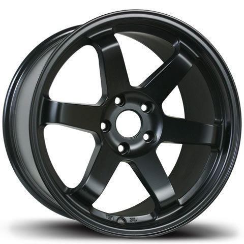 AVID.1 WHEELS AV-06 MATTE BLACK 18X9.5 +24 5x114.3