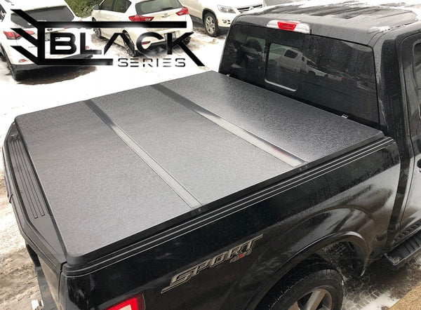2004-2018 Ford F150 5 5ft Short Bed - Hard Tri-fold Cover