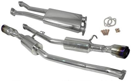 Injen 10-13 Hyundai Genesis Coupe SS Cat Back Exhaust w/ Burnt Titanium Tips