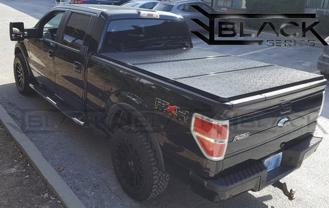 1997 2018 Ford F150 6 5ft Bed Hard Tri Fold Cover Solid Fold Tonne Nextmod Montreal