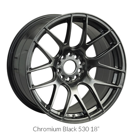XXR 530 CHROMIUM BLACK 18X8.75 +33 5x100/114.3