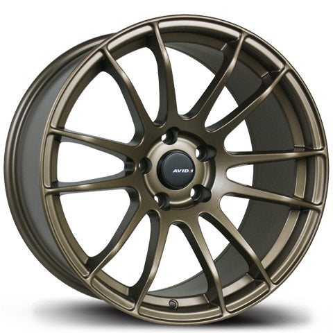 AVID.1 WHEELS AV-20 BRONZE 18X8.0 +35 5x114.3