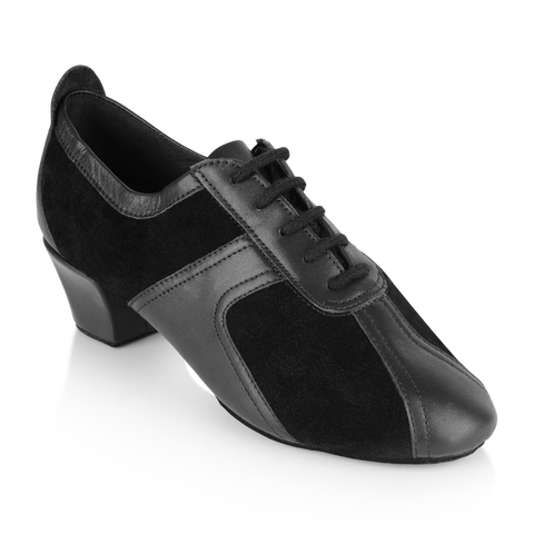 Ray Rose 410 Breeze | Black Suede/Black Leather | Practice Dance Shoes