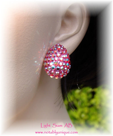 Swarovski Austrian Crystal  - EJ 1287 Earring: Light Siam AB