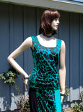 NUG GREEN & BLACK ANIMAL PRINT TANK TOP