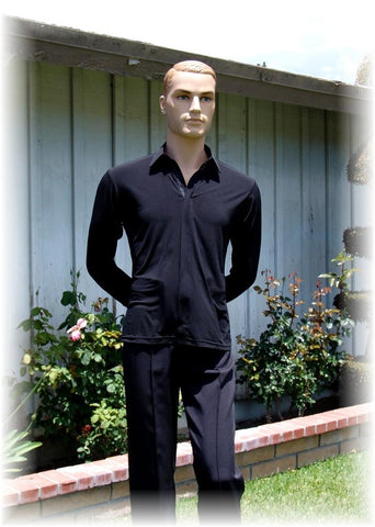 "GS03 - ""OUT"" Style Black Shirt."