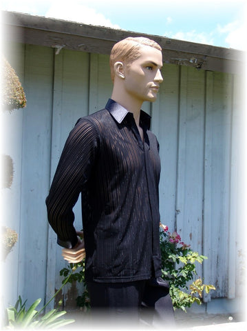 "GS20 - ""Out""  Style Black Versatile Shirt"