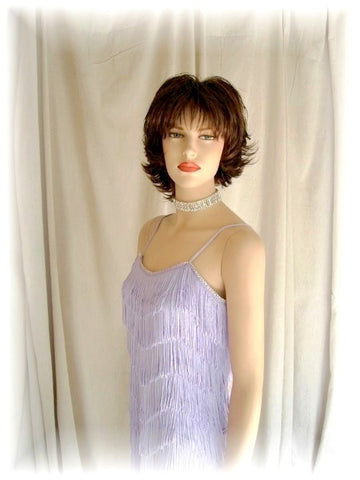 NUG 2646 Lilac Fringe Dress