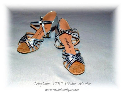 Stephanie 12017-42  Silver Leather