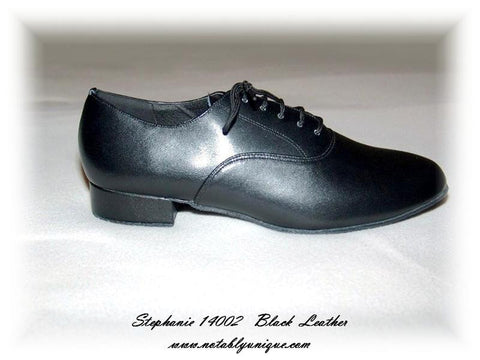 Stephanie Dance Shoes 14002-11 Black Leather Shoe