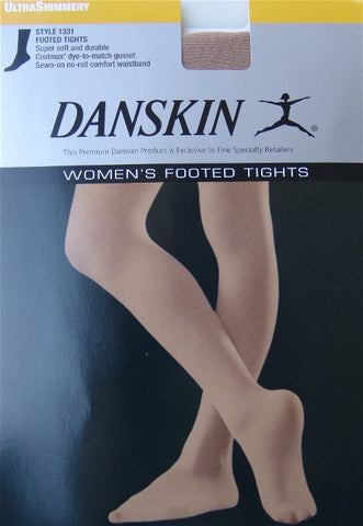 Danskin Shimmery Tights: Style 1331 - Light Toast Color (Minimum Order 3 Pair)