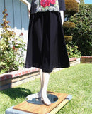 NUG One Size Black Practice Skirt