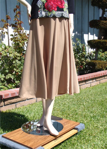NUG One Size Tan Practice Skirt