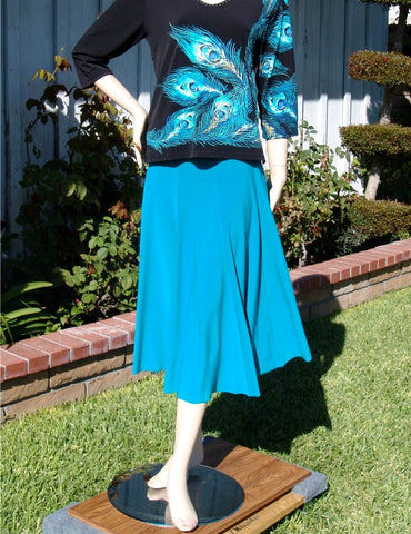 NUG One Size Turquoise Practice Skirt