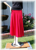 NUG One Size Red Practice Skirt