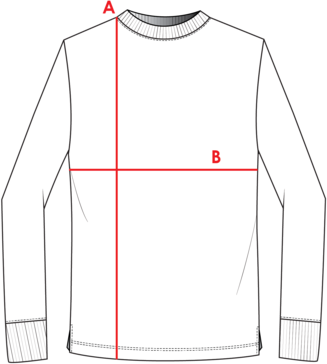 Long Sleeve Shirt Measurements