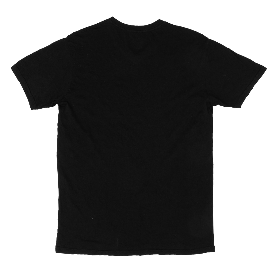 NEW COLOR! JET BLACK V-NECK CRINKLE TEE