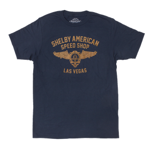 Shelby American Speed Shop Tee