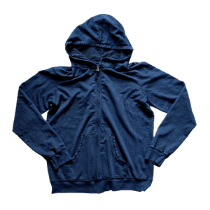 FRENCH TERRY HOODIE : VINTAGE BLUE