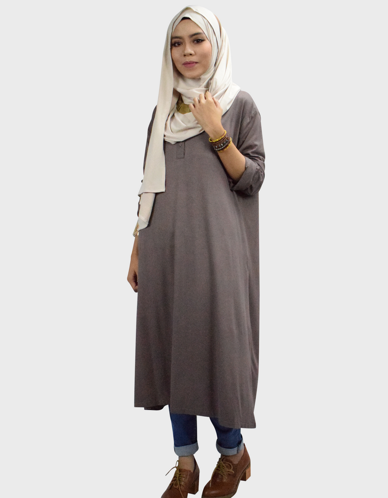 Midi Dress 3.0 in Dark Khaki